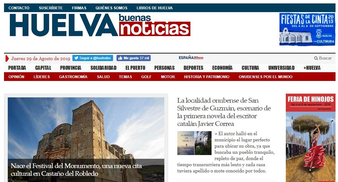 Entrevista Diario Huelva